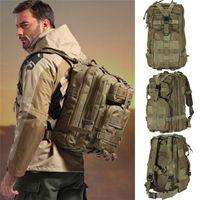 3P Открытый военный Тактический рюкзак 30л Molle Bag Army Sport Travel Rucksack Camping Hiking Trekking Camouflage
