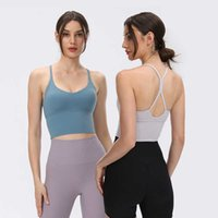 Yoga Tank Tops Sports Bra Hollow Out Back Sexy Thin Sling Vest Gym Clothes Women Underwear Running Fitness Shirt