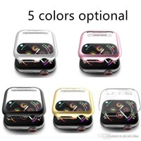 High Quality PC Cover Case for watch 1 2 3 4 5 series 38mm 42mm 40MM 44MM Five Colors Optional
