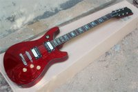 Factory Direct Sale Customization Red Electric Guitar with Chrome Hardware,Rosewood Fingerboard,can be customized