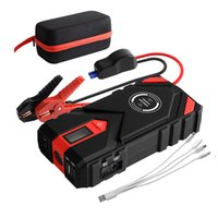 2021 new Car Jump Starter Power Bank 20000mAh 12V Starting device Diesel Battery 1600A Emergency Starter-Up with wireless charge W006