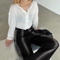 Casual Baggy Calças Retas Mulheres Oversized 90s Jeans Do Vintage Preto Gradiente Stripe Alto Cintura Calças Denim Autumn Women Capris