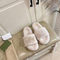 Pantofole Designer Slifts Donne Sandali Scarpe Inverno Hotel Scuffs Indoor Stivaletti Tacchi caldi Moda Sliders Donna Abito da donna Stile classico