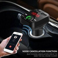 Theft Protection Bluetooth Version 4.2 FM Transmitter Car Player Kit Card Charger Quick Dual USB MP3 Handsfree