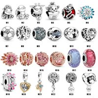 Daisy Real 925 Sterling Silver Garden Series Flower Beads Charm Fit Original Bracelet Diy Jewelry Accessories