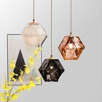 Pendant Lamps Post Modern Glass Chandelier Nordic Light Luxury Living Room Dining Bar Art B & Bedside Magic Cube