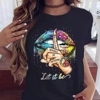 Women's T-Shirt,Print T shirt Men Casual Tees Summer Style Fashion Top Short Sleeve Trendy Hip hop Street Clothes Streetwear2021