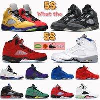 5 5s Yelken Siyah Muslin Gri Basketbol Ayakkabıları Ne Adanın Yeşil Top 3 Oregon Alternatif Bel Paskalya OG Erkek Sneakers