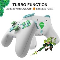Game Controllers & Joysticks Bluetooth-compatible Wireless Gamepad For Switch Pro Supports Gyroscope Axis Function, Dual Motor Vibration