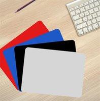 3 Sizes DIY Sublimation Mouse Pad Decor Square Rubber Non-Slip Desk Mat Waterproof Laptops Protection Pads