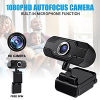 480P 720P 1080P Full HD Megapixels USB2.0 Webcam Camera with MIC Clip-on for Computer PC Laptop 2MP Web Cam Widescreen Video Calling