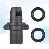 Bike Pumps Inflatable Pool Pump Adapter Bed Row Rowing Boat Air Adaptor Board Stand Paddle Kayak Surfing Accessory Black