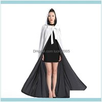 Jackets Aessories , Party & Events Arrival Veet Hooded Cloaks Winter Wedding Capes Wia Robe Warm Christmas Long Bridal Wraps S-6Xl Rrwgg