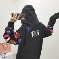CPFM.XYZ Erkekler Kadınlar Hoodies Tişörtü Polar Tokyo Kalesi Tepe Sınırı Kayısı Kanye West Hooded C0401