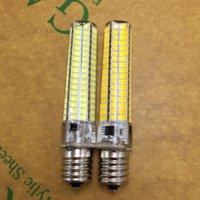 Bulbs E17 LED Bulb Light 5730SMD 220V 10W Crystal Lamp 360 Degree Replace 80W Halogen For Chandelier Lightin 5pcs