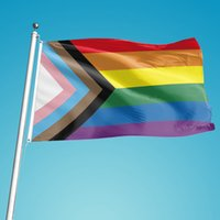 8 أنماط قوس قزح العلم راية 3x5ft 90x150 سنتيمتر مثلي الجنس أعلام فخر البوليستر لافتات الملونة lgbt مثليه الإستعراض الديكور بواسطة البحر LLA896
