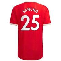 7 Ronaldo Cavani personalizado 21-22 Qualidade tailandesa 34 Van de Beek 18 B.fernandes 9 Martial 10 Rashford14 Lingard 21 camisas de futebol 25 Sancho