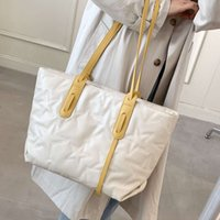 Pu Learn High Capacity Tote 2021 Fashion Luxury Brand Trends Women Digner Large Shoulder Bags Wallets and Handbags