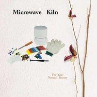 10st / set Professionell Små mikrovågsugns kit för glasfusionsverktyg