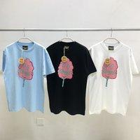 3 Renkler Erkek T Gömlek Justin Bieber Drew Ev Pamuk Şeker Yüksek Sokak Kısa Kollu T-shirt Üst Rahat Moda Erkek Giyim