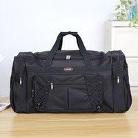 Thick Canvas Casual Duffle Bag Waterproof Mens Travel Bags Long Strap Anti-scratch Multi-pocket Large Capacity Luggage Handbags LJ200921