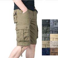 Мужские шорты Baldauren 2021 летний стиль мужские хлопковые пять точечные брюки повседневные свободные бриджи многокарты