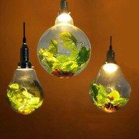 القهوة الشمال المقهى الشمسية مصابيح الشاي زجاج زجاج المصباح LED أضواء طعام غرفة المعيشة الرعوية الكرة الخضراء مصنع قلادة مصباح