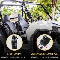 Golf Training Aids 2pcs Cart Water Bottle Bag Multi-purpose Black Bicycle Cup Baby Cooler Portable