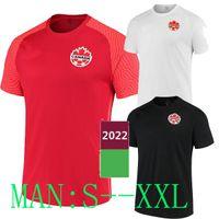 2021 Kanada Futbol Formaları Eve Uzakta Üçüncü Davies 19 David 20 Larin 17 Kaye 14 Cavallini 9 Laryea 22 21 22 Jersey 2022 Futbol Gömlek