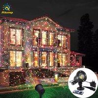 Laser Light Sky Star Laser Projektor Landschaft Beleuchtung Rot Grün LED Bühnenbeleuchtung Outdoor Garten Rasenlampe Für Weihnachtsfeier Dekoration