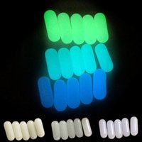 Luminous Glowing 6mm Green, blue, blue-green pills Insert Suitable for Terp Slurp Quartz Banger Nails Glass Bongs Dab Rigs