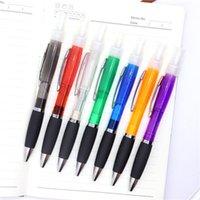 Penna a spruzzo domestica Penna a sfera Profumo di plastica Alcool Spraypen 7 Colori Forniture per ufficio RH5319