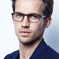 Moda occhiali da sole Cornici Danimarca Marca Titanium Occhiali ottici Occhiali da uomo Quadrato Myopia Eye Glass Occhiali da vista Occhiali da vista coreano senza fiato
