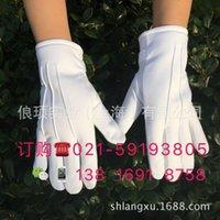 mitaines de devoir antidiskid chaud hiver peluche de peluche blanc gants de sécurité hommes et femmes Sécurité Etiquette Avis