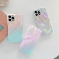 Marble Soft TPU Cases For Iphone 13 12 11 Pro Max XR X XS Iphone13 8 7 8P 6 Phone13 Natural Granite Stone Rock Vetical Luxury Fashion Gel Cell Phone Cover Back Skin