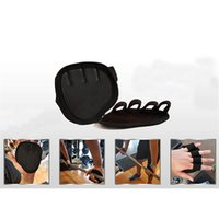 Lifting Palm Dumbbell Grips Pads Unisex Anti Skid Weight Cross Training Gloves Gym Workout Fitness Sports For Hand Protector 1488 Z2