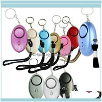 Other Gardenother Garden Home & Garden130Db Egg Shape Self Defense Alarm Girl Women Security Protect Alert Personal Safety S Loud Keychain A