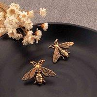 Мужчины ретро насекомых старинные пчелы женские брошь костюм отворотный PIN-код ювелирных аксессуаров подарок для любви