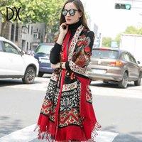 Dana Xu 2019 Nuova sciarpa Donne Brand Brand Foulard Femme Pure Lana Bufanda Mujer Casaco Feminino Pashmina Fashion Red Pashmina X0722