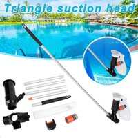 Pool & Accessories Swimming Jet Vacuum Head With Pole Cleaning Supplies Portable For Home Tub MVI-ing