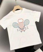 الصيف بنين فتاة تي شيرت مصممين ملابس الاطفال جولة الرقبة بوي بولو شيرت إلكتروني الطباعة ملابس الطفل تي شيرت