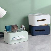 Tissue Boxes & Napkins 4 Colors Great Rectangular Napkin Box Supplies Plastic High Durability For School