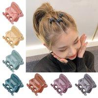 Kindermädchen Haarspange für Kid Mini Barrette Haarnadelklaue Hand Form Griff Zubehör Boutique Candy Farbe