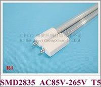 AC85-265V Input T5 G5 LED-rörlampa Ljus 600mm 900mm 1200mm 1500mm Aluminium CE NO BEHÖVER BALLAST 110V / 220V Ingång direkt