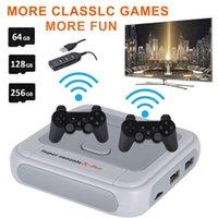 Retro WiFi Super Console X Pro con 50000 giochi 2.4G Controller wirelless 4K HD TV Video Game console per PSP / N64 / DC / PS giocatori portatili