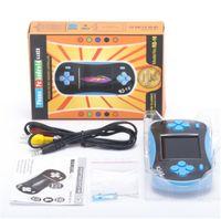 Hot RS-16 Consoles de jeu Mini Portable Mini Joueur Joueur Enfants Enfants Jouet 260 Jeux Clasic TV Out GRATUIT DHL