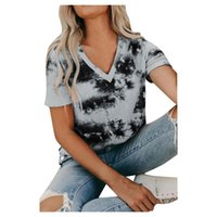 Summer Clothes For Women Casual Top Femme V Neck Lace Tops Short Sleeve T Shirts T-shirts Camisetas De Mujer Women's T-Shirt