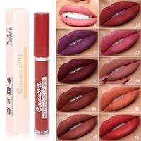 Cmaadu Mat Sıvı Dudak Glass 10 Renkler Ruj Vakfı Makyaj Yapışmaz Kupası Lipgloss Uzun Ömürlü Maquillage Kiti