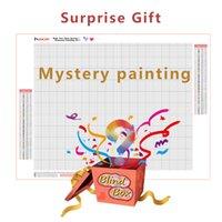 HUACAN 5d Photo Custom Diamond Painting Mystery Box Picture Gift DIY Diamond Embroidery Mosaic Handicraft Home Decor Kits