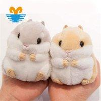 Chicas lindas Mini Mini Hamster Llavero Mujeres Faux Fur Pompom Llavero Llavero Tinkets Handbag Coche Llavero Titular de la Joyería Party Gift1 555 Q2